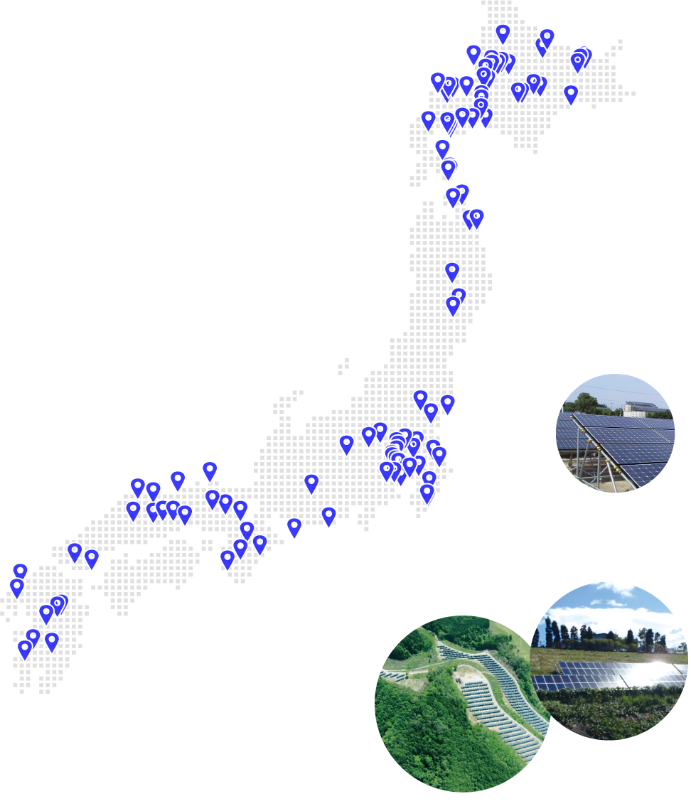全国実績MAP