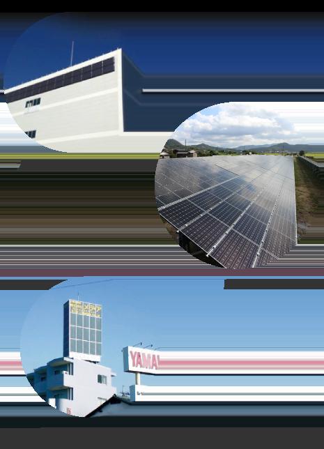 太陽光設備壁面施工 農地転用 看板型太陽光設備