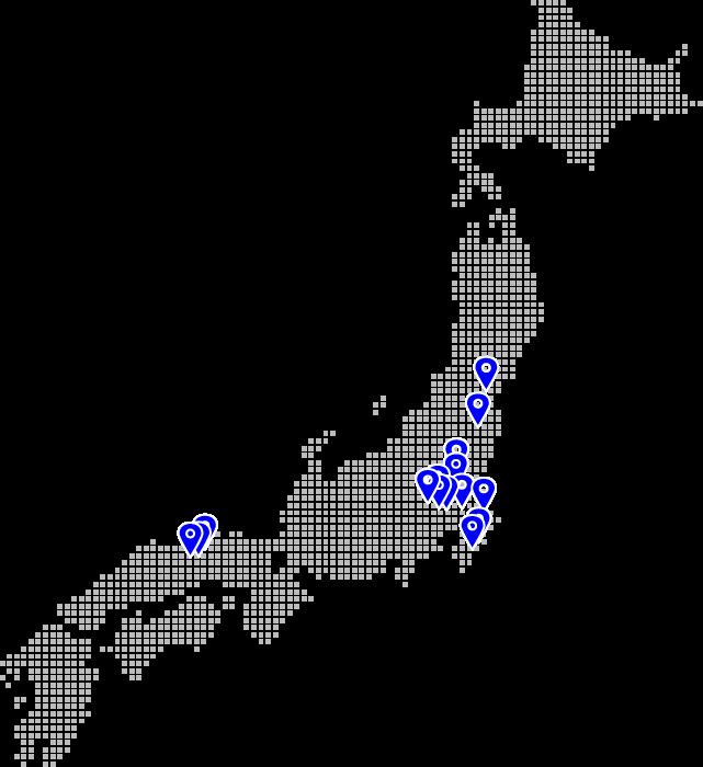 メデア所有発電所 全国MAP